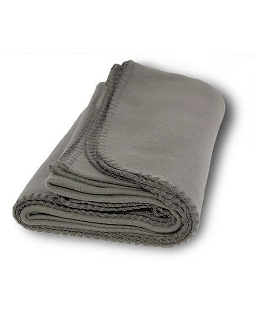 Alpine Fleece Value Fleece Blanket - Grey