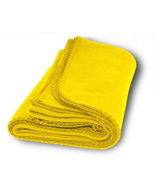 Alpine Fleece Value Fleece Blanket - Yellow