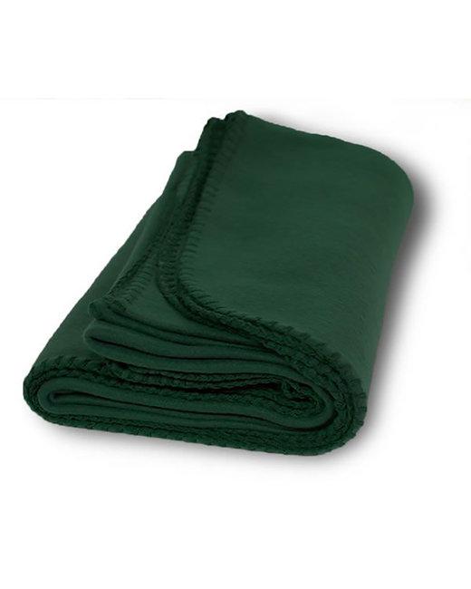 Alpine Fleece Value Fleece Blanket - Forest Green