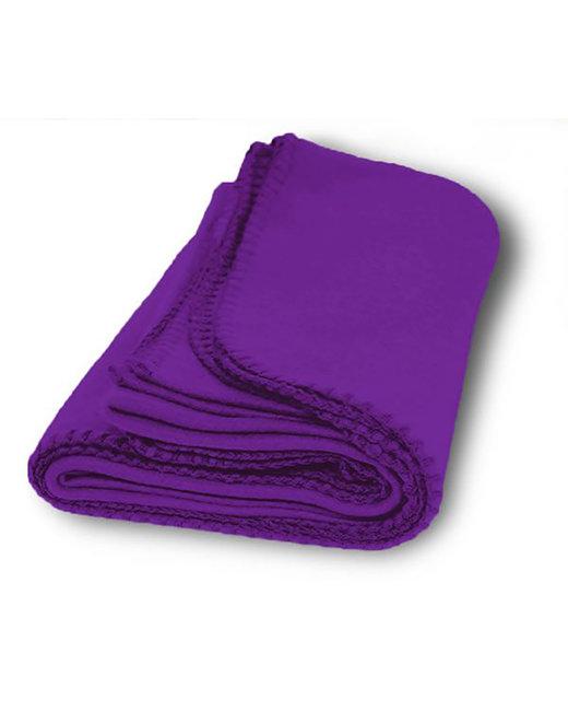 Alpine Fleece Value Fleece Blanket - Purple