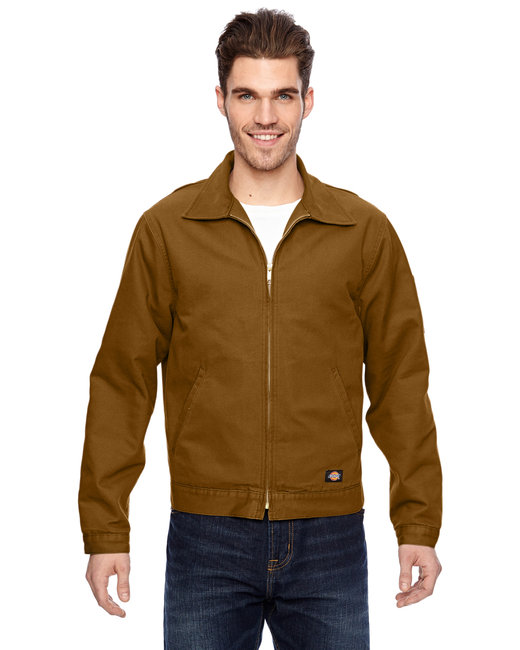 Dickies Men's 10 oz. Industrial Duck Jacket - Brown Duck