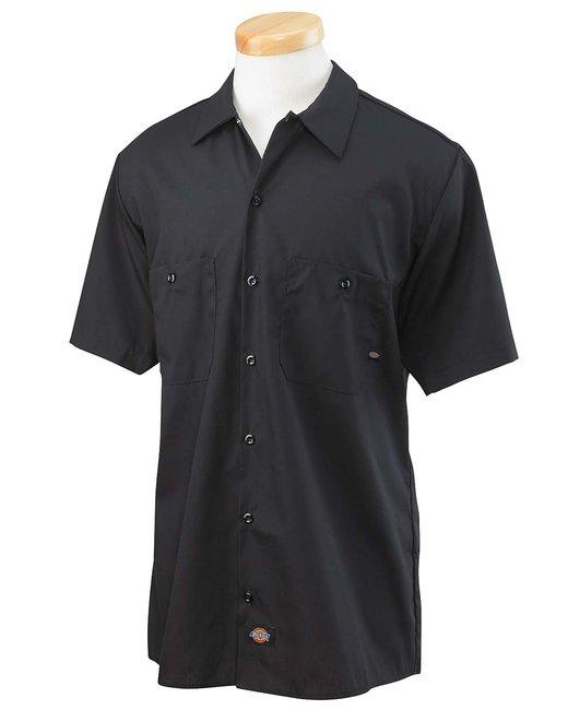 Dickies Men's 4.25 oz. Industrial Long-Sleeve Work Shirt - Charcoal