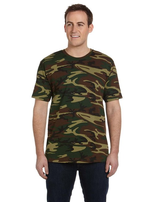 8623f6cee4 LS3906 Code Five Men's Camo T-Shirt