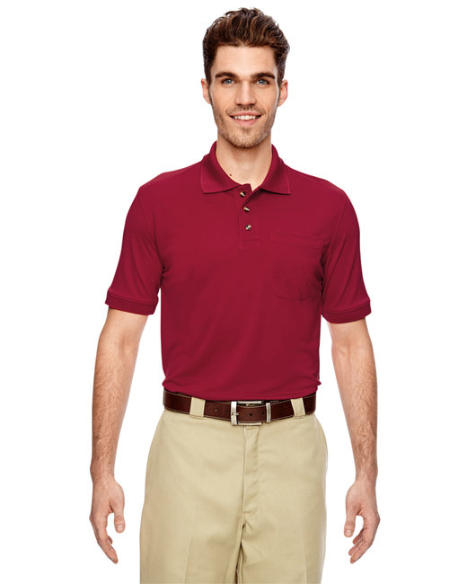 Dickies Men's 6 oz. Industrial Performance Polo - English Red