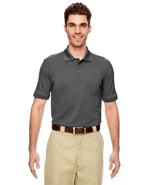 Dickies Men's 6 oz. Industrial Performance Polo - Charcoal