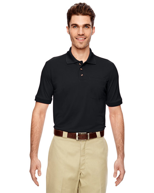 Dickies Men's 6 oz. Industrial Performance Polo - Black