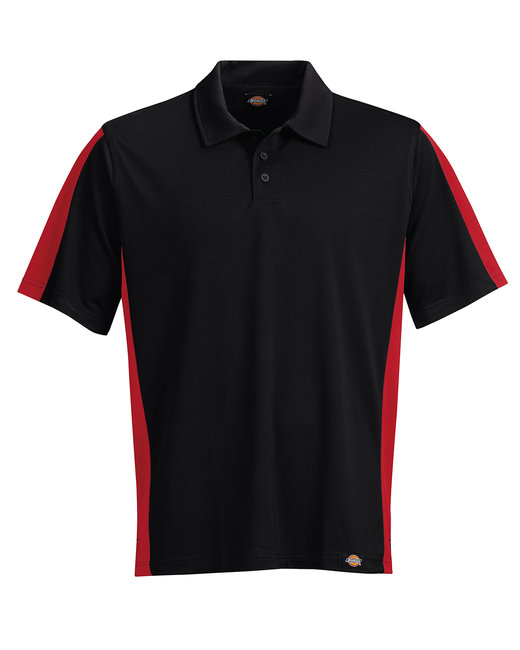 Dickies Men's 6 oz. MaxCool Performance Polo - English Red