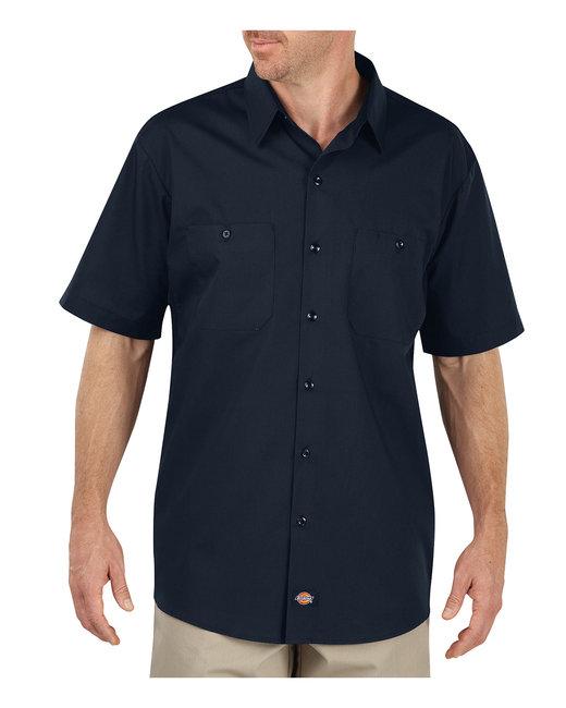 Dickies Men's 4.25 oz. MaxCool Premium Performance Work Shirt - Dark Navy