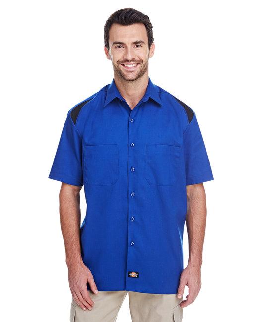 Dickies Men's 4.6 oz. Performance Team Shirt - Cobalt/ Black