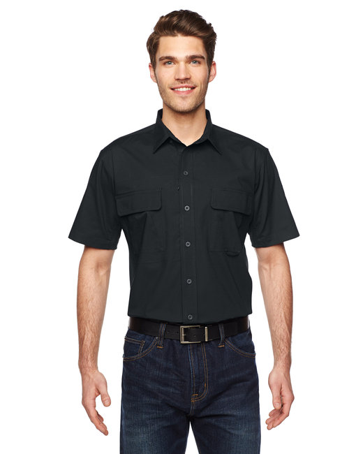 Dickies Men's 4.5 oz. Ripstop Ventilated Tactical Shirt - Midnight