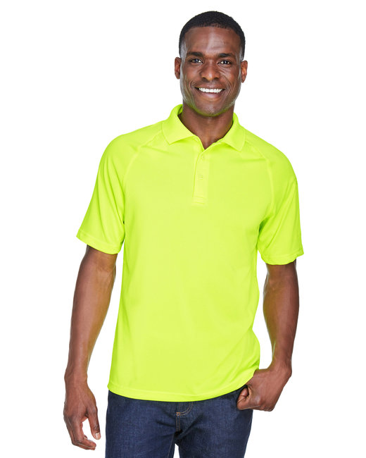 Harriton Adult Tactical Performance Polo - Safety Yellow