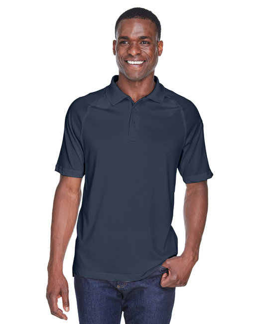 Harriton Adult Tactical Performance Polo - Dark Navy