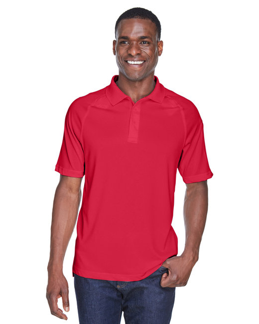 Harriton Adult Tactical Performance Polo - Red