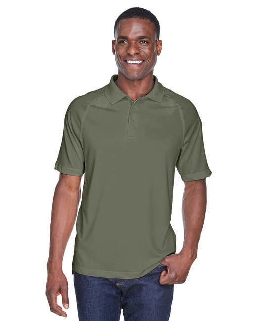 Harriton Adult Tactical Performance Polo - Tactical Green