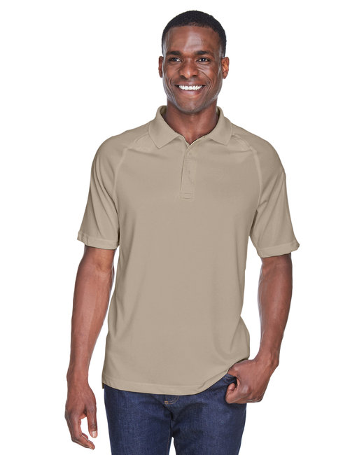 Harriton Adult Tactical Performance Polo - Desert Khaki