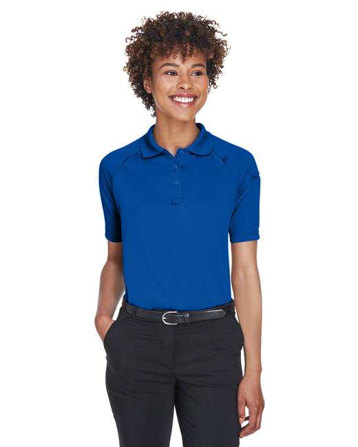 Harriton Ladies' Advantage Snag Protection Plus Tactical Polo - True Royal