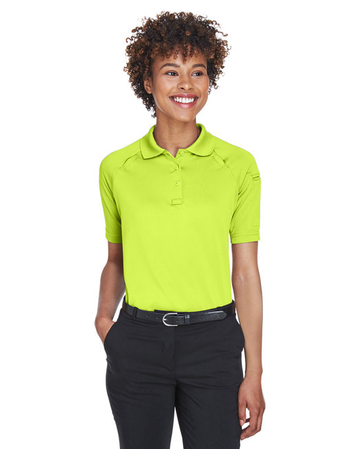 Harriton Ladies' Advantage Snag Protection Plus Tactical Polo - Safety Yellow