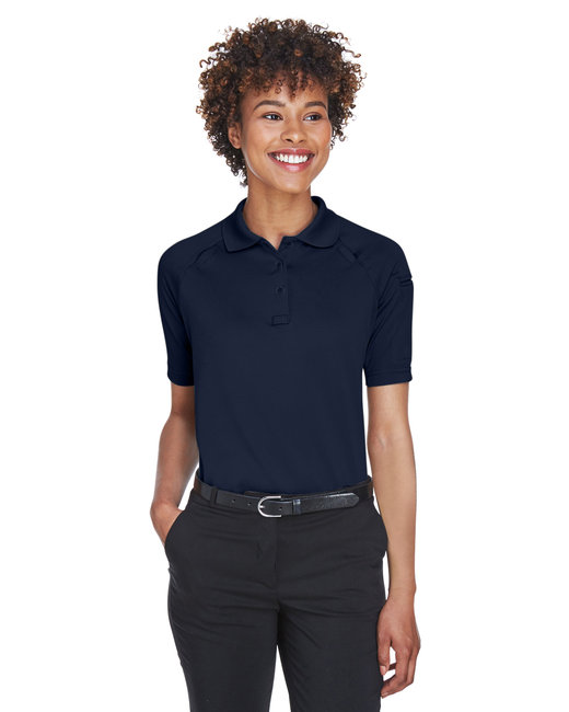 Harriton Ladies' Advantage Snag Protection Plus Tactical Polo - Dark Navy