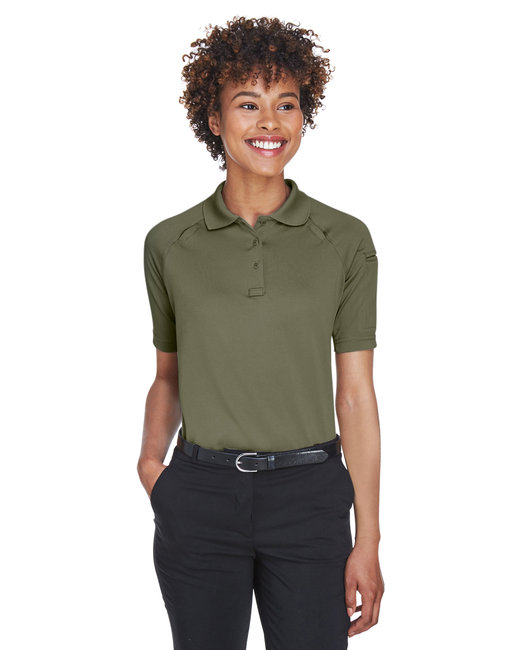 Harriton Ladies' Advantage Snag Protection Plus Tactical Polo - Tactical Green
