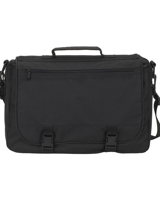 Gemline Executive Saddlebag - Black