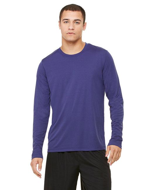Alo Sport M3009 - Men's Performance Long-Sleeve T-Shirt - Sport Navy - 2XL at Sears.com