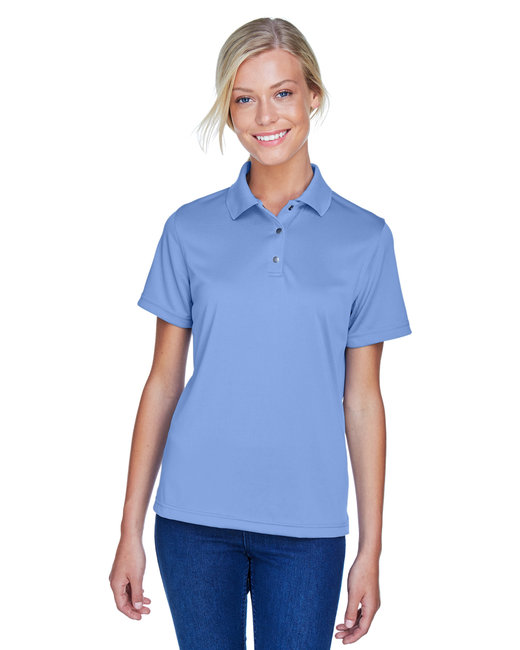 Harriton Ladies' Advantage Snag Protection Plus IL Snap Placket Polo - Industry Blue