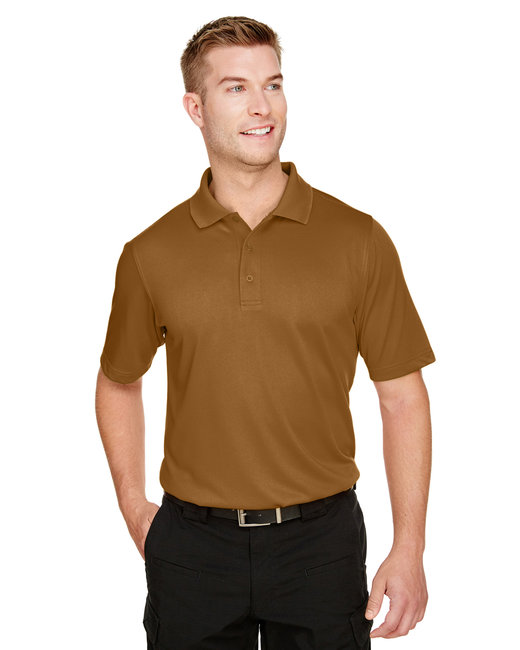 Harriton Men's Advantage Snag Protection Plus IL Polo - Duck Brown