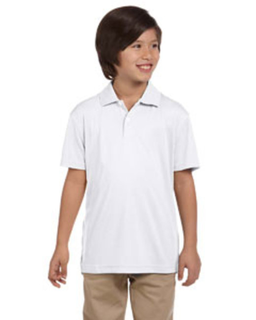Youth Double Mesh Polo