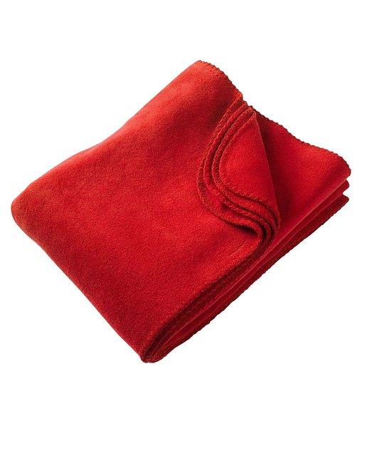 Harriton 12.7 oz. Fleece Blanket - Red