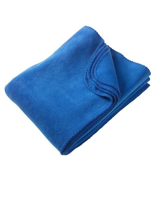 Harriton 12.7 oz. Fleece Blanket - True Royal