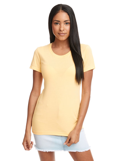 Next Level Ladies' Ideal T-Shirt - Banana Cream