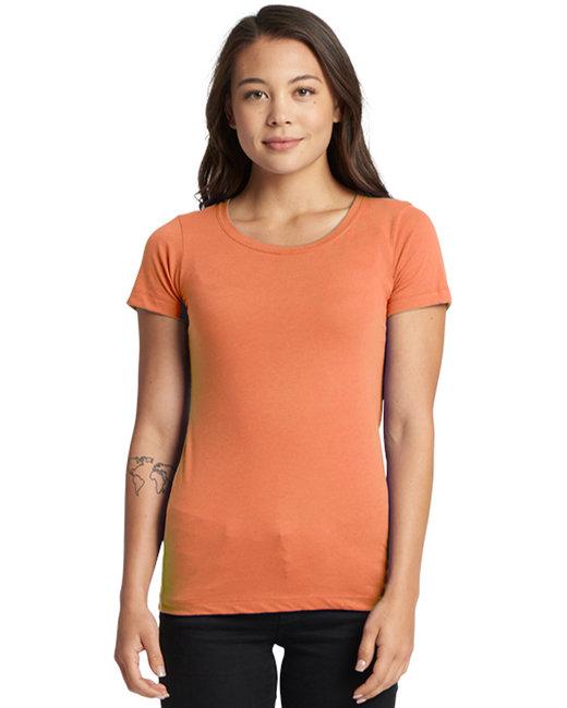 Next Level Ladies' Ideal T-Shirt - Light Orange
