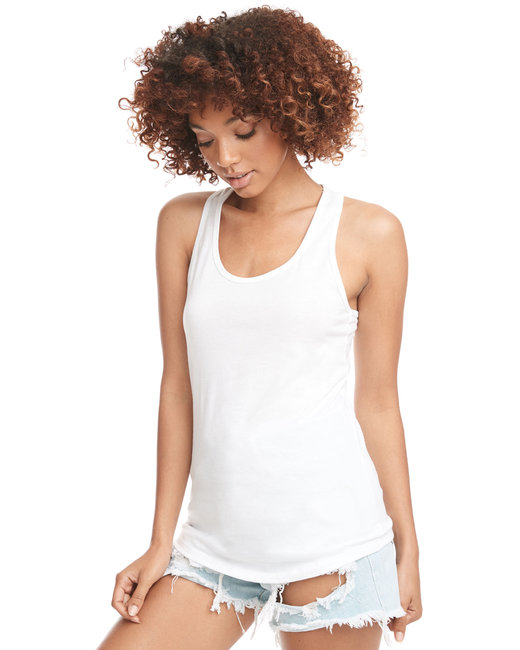 Next Level Ladies' Ideal Racerback Tank - White
