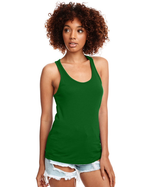 Next Level Ladies' Ideal Racerback Tank - Kelly Green