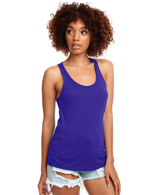 Next Level Ladies' Ideal Racerback Tank - Purple Rush