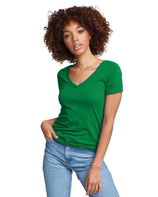 Next Level Ladies' Ideal V - Kelly Green
