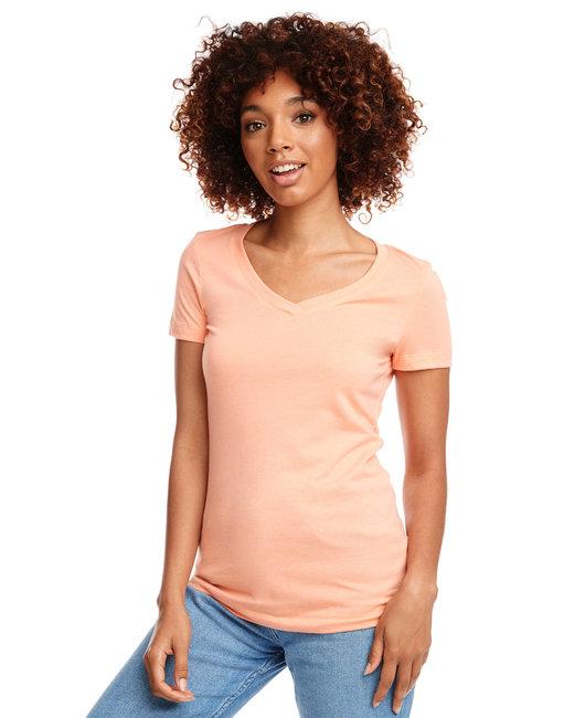 Next Level Ladies' Ideal V - Light Orange