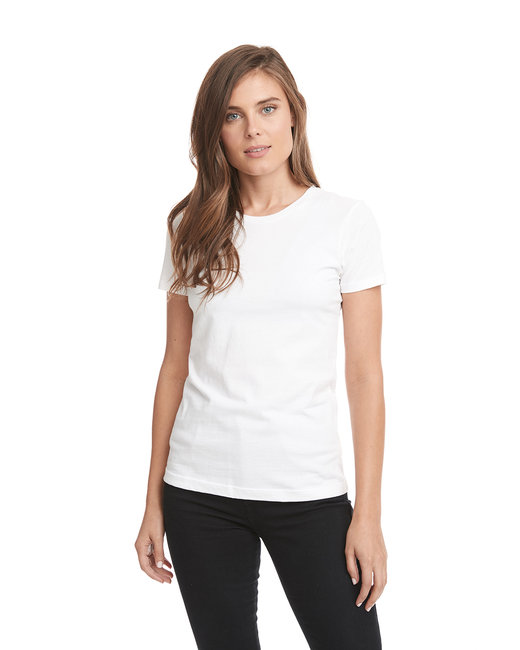 Next Level Ladies' Boyfriend T-Shirt - White