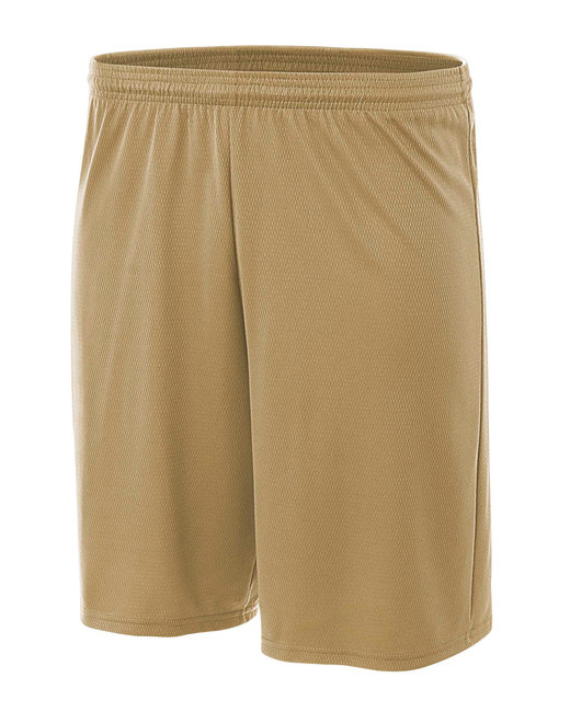 A4 Adult Cooling Performance Power Mesh Practice Short - Vegas Gold