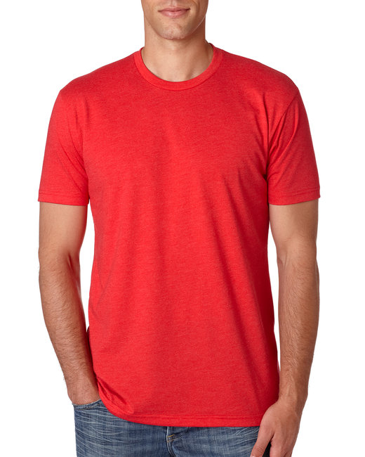 Next Level Men's CVC Crew - Red