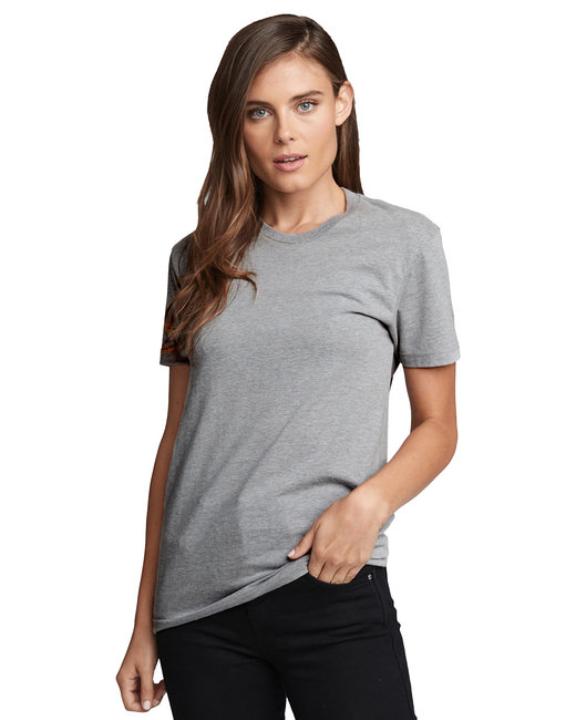 Next Level Men's CVC Crew - Dark Hthr Gray