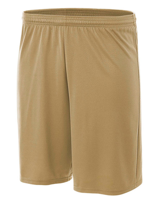 A4 Youth Cooling Performance Power Mesh Practice Short - Vegas Gold