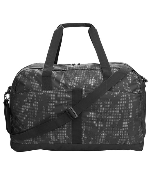 North End Rotate Reflective Duffel - Black/ Carbon