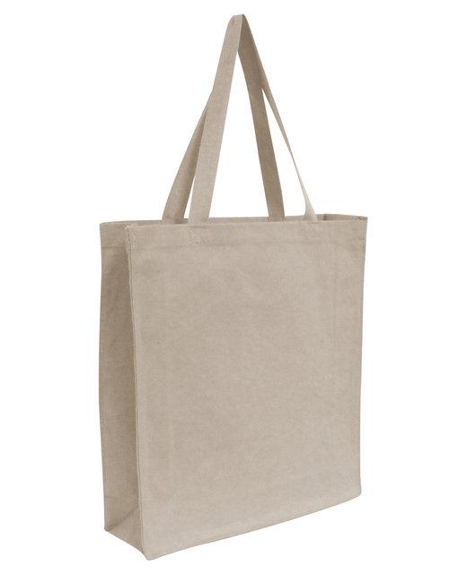 OAD Promo Canvas Shopper Tote - Natural