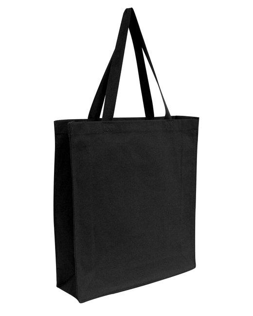 OAD Promo Canvas Shopper Tote - Black