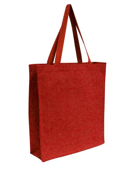 OAD Promo Canvas Shopper Tote - Red