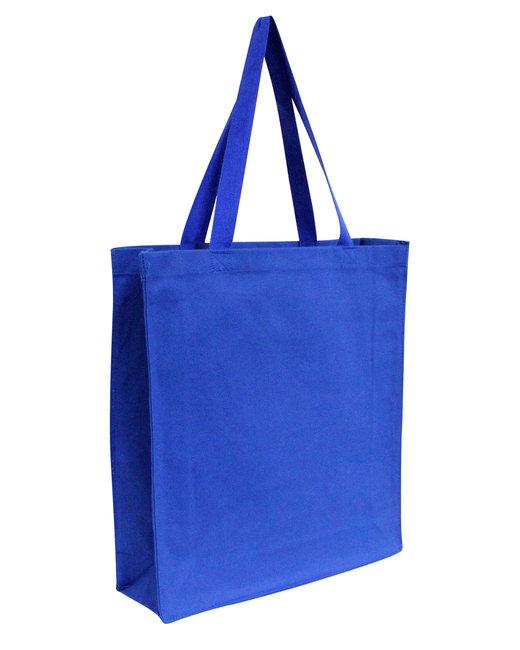 OAD Promo Canvas Shopper Tote - Royal