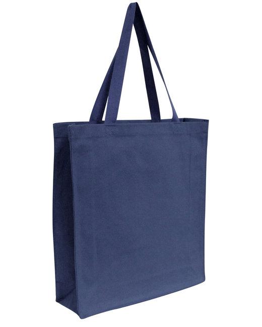 OAD Promo Canvas Shopper Tote - Navy