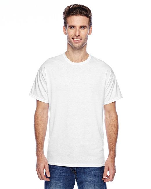 Hanes Unisex 4.5 oz. X-Temp® Performance T-Shirt - White