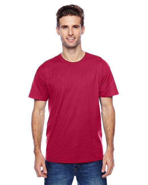 Hanes Unisex 4.5 oz. X-Temp® Performance T-Shirt - Deep Red